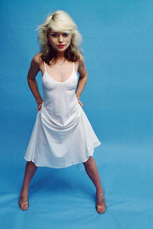 """vintagegal: """" Happy Birthday Debbie Harry (July 1, 1945) """"The only place left for rock to go is toward more girl stars. There's nothing left for men to do. There's bound to be more male stars, but they can't express anything new."""" """""""