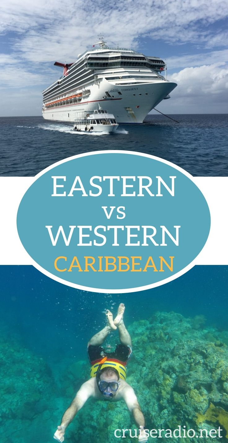 One of the biggest questions asked by cruisers is, what is the difference between the Western Caribbean vs. an Eastern Caribbean Cruise? We explain.