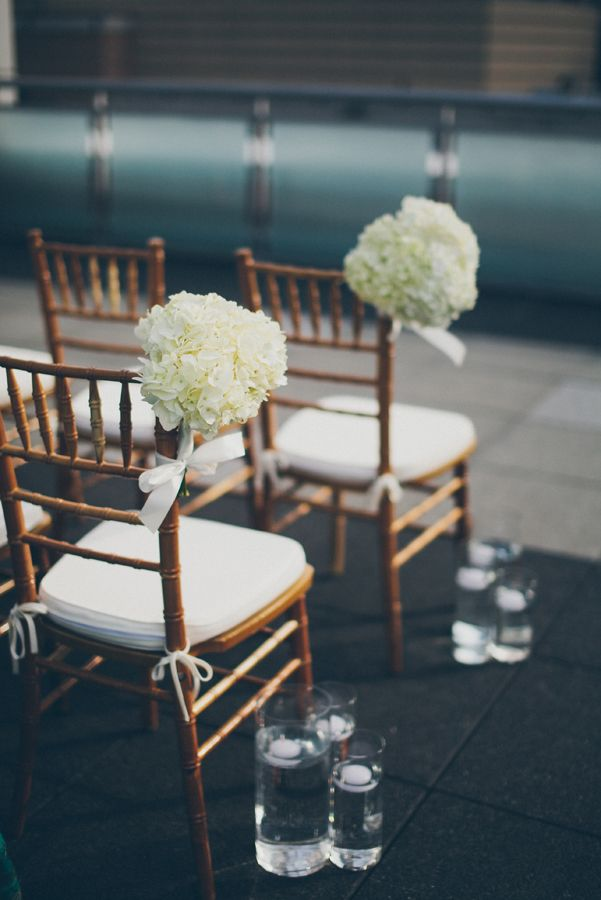 Wedding Ceremony Chair Decorations Pinterest Wedding Decor