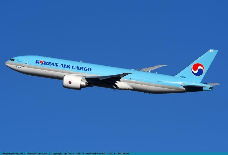Photo Korean Air Cargo Boeing 777-FB5 HL8043