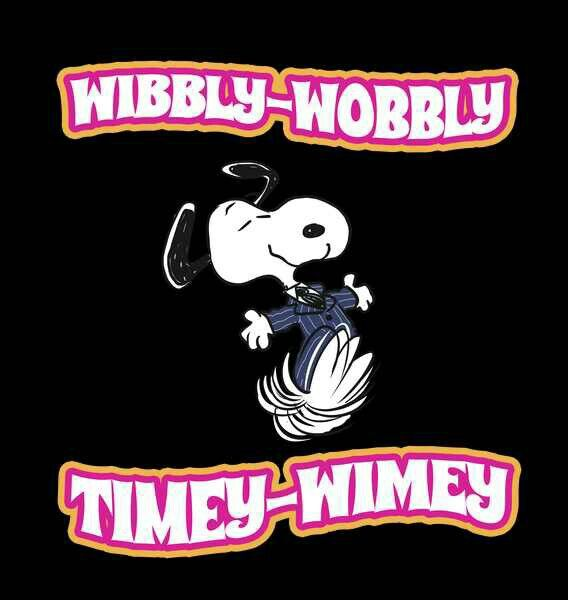 SNOOPY DOCTOR WHO