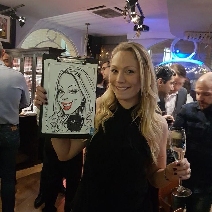 Party entertainment caricature artist