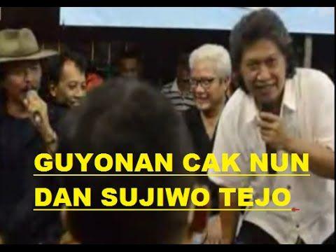 Cak Nun 2015, Guyonan Cak Nun dan Sujiwo Tejo, ceramah cak nun dan sujiwo tejo, sujiwo tejo dan cak nun, cak nun adalah seorang tokoh terkenal di yogyakarta....