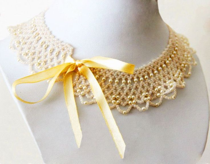 Free pattern for necklace Marquise