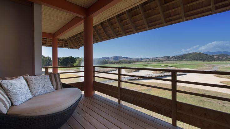 Sheraton New Caledonia Deva Spa and Golf Resort - superior golf room terrace