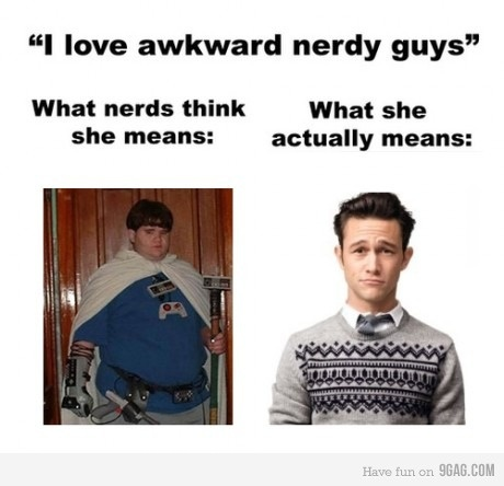 oh yes: Dreams Guys, Laugh, True Facts, Funny Pictures, Joseph Gordon Levitt, Truths, So True, Nerdy Guys, Awkward Nerdy