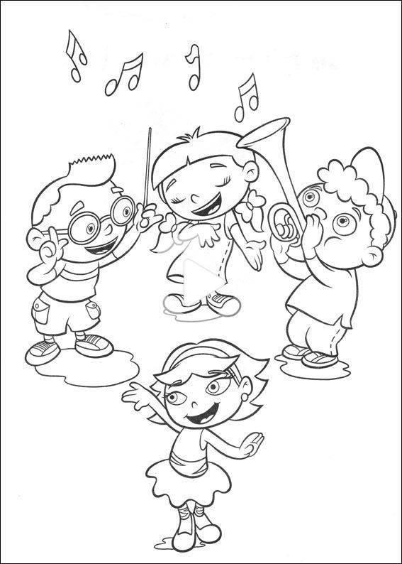Coloring Mini Einsteins 1 Little Einsteins Coloring Pages Super Coloring Pages