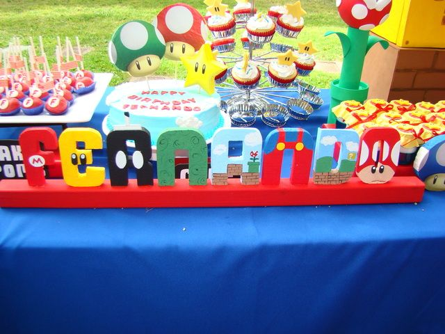 Super Mario Bros. Party #supermario #party