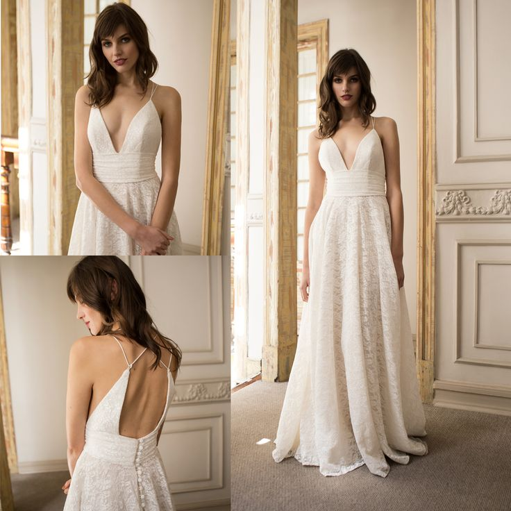 Vestido de novia de encaje · Lace wedding dress