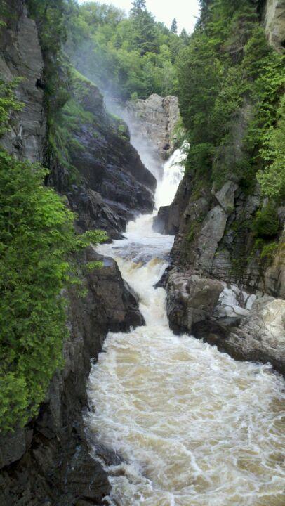 Canyon Sainte-Anne à Beaupré (via ferrata, tyrolienne) - J 5