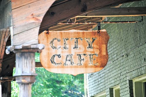 Every good Bama student knows her way to City Cafe. :) It's a landmark, a staple in the Tuscaloosa diet!