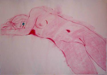 "Saatchi Art Artist Franco Fusari; Painting, ""the eye #Z042"" #art"
