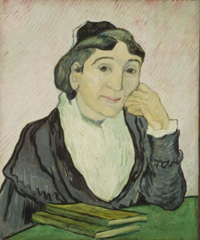 Van Gogh, Vincent, L'arlesiana (Ritratto di M.me Ginoux), 1890, inv. 5164