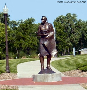 Guardian of the Grove. Council Grove, Kansas