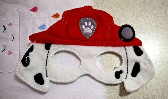 Mascara feltro patrulha canina pawpatrol