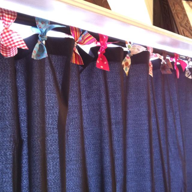 Ribbon Shower Curtain Hooks