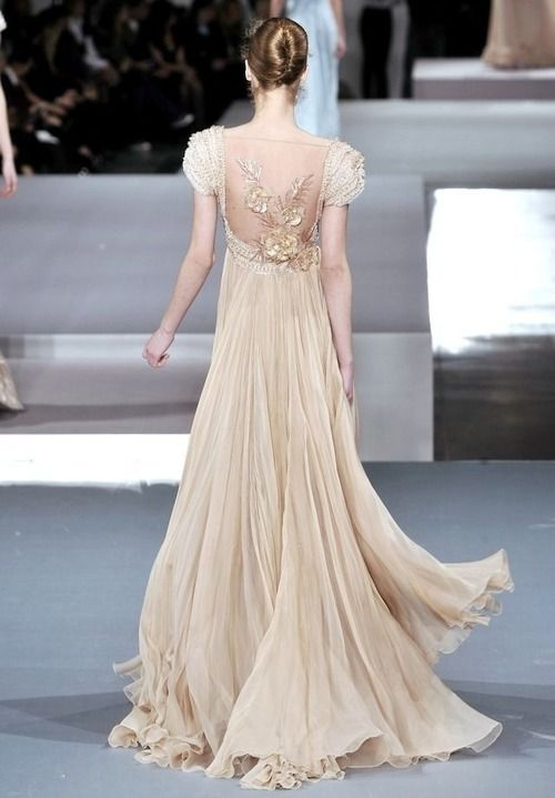 John Galiano > beautiful flowers on the back