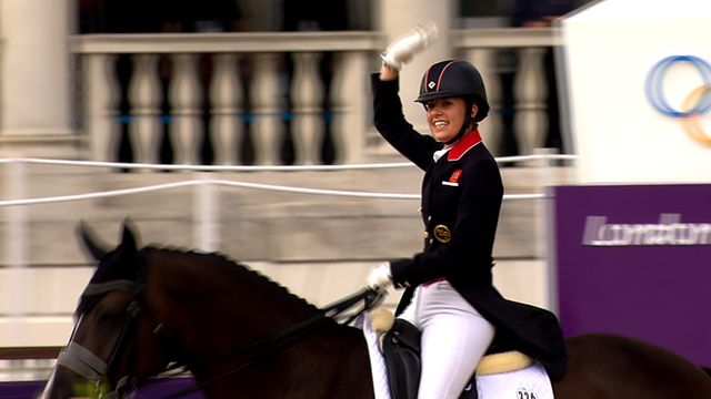 BBC Sport - Olympics equestrian: 20 gold medals for GB with dressage win