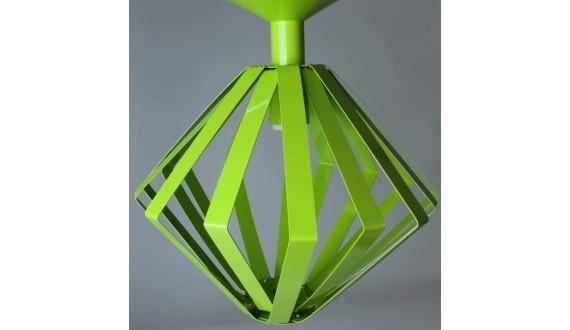 Triangle Angle Pendant-360x300mm Ali-Lime Green
