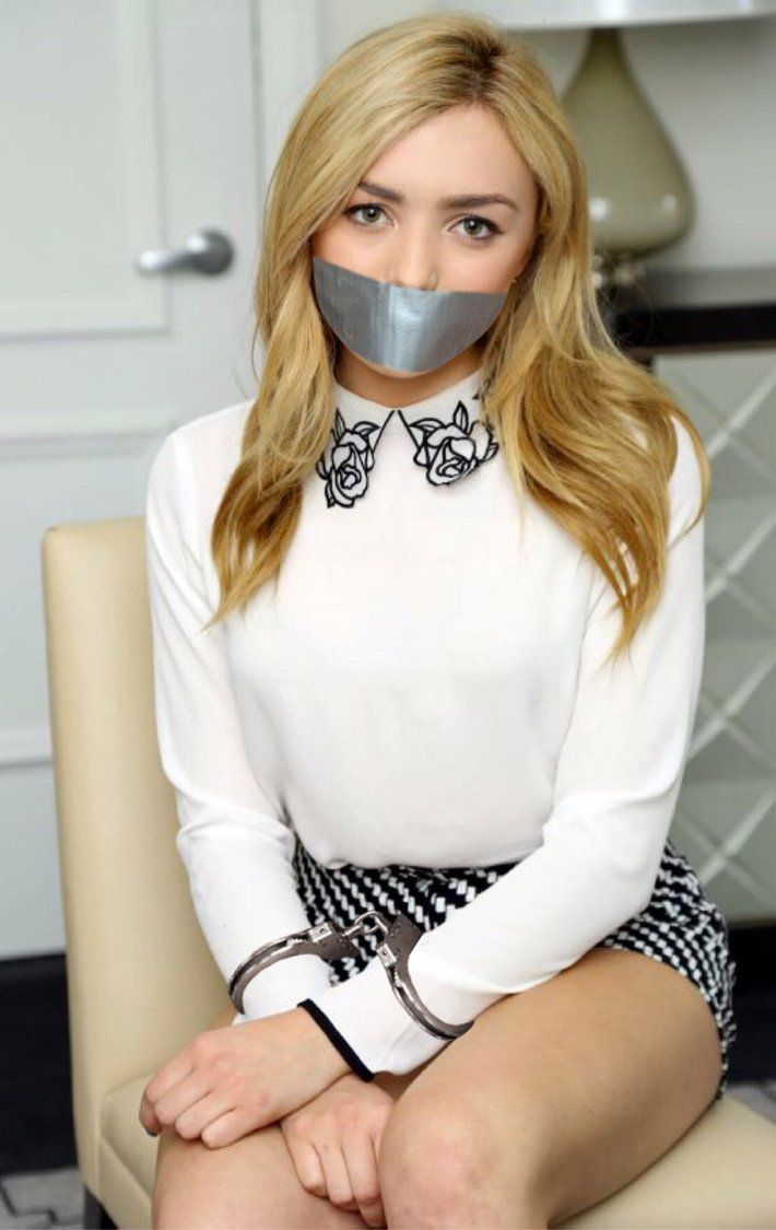 Peyton List Handcuffed And Tape Gagged By Goldy0123 -6235