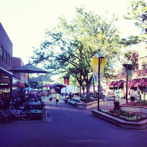 Fort Collins Colorado: It's Amazing To See How Many Of These Are In Old Town