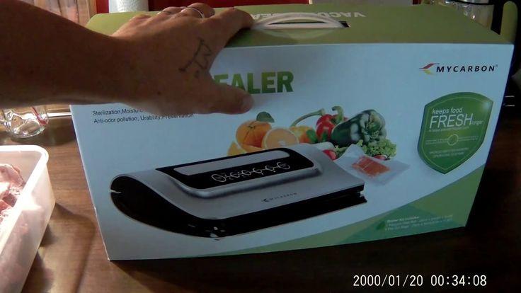 Vakuumierer Lebensmittel Vakuumiergerät mit Exakter Vakuumregulierung  F...