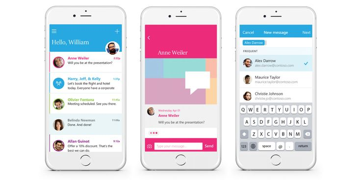 #Microsoft's new @Sendapp makes email more like #WhatsApp  http://tnw.co/1MK4rG4 - @moontechnolabs
