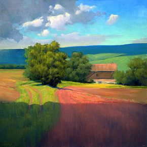 Great Color!! IanRoberts.com - Gallery - Studio Paintings