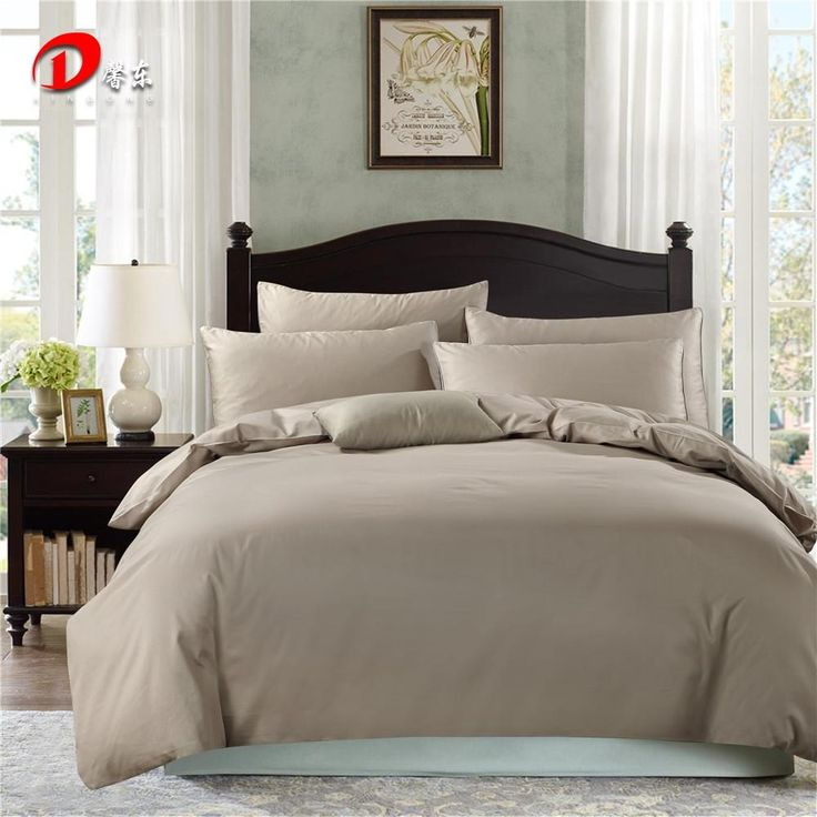 dark grey satin bedding set luxury egyptian cotton bed set king queen size high quality bed
