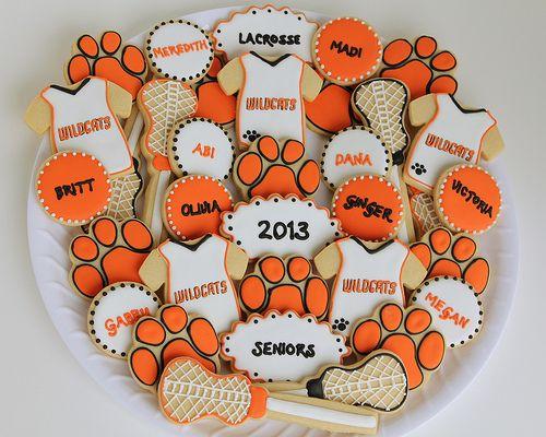 Lacrosse Cookies