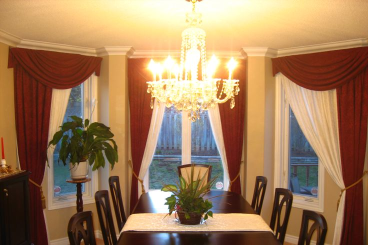 Bay Window Coverings Balloon Custom Window Treatments