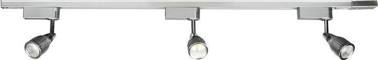 Upfield 3 Light LED Track and Spotlight Kit 7w 560lumens in White