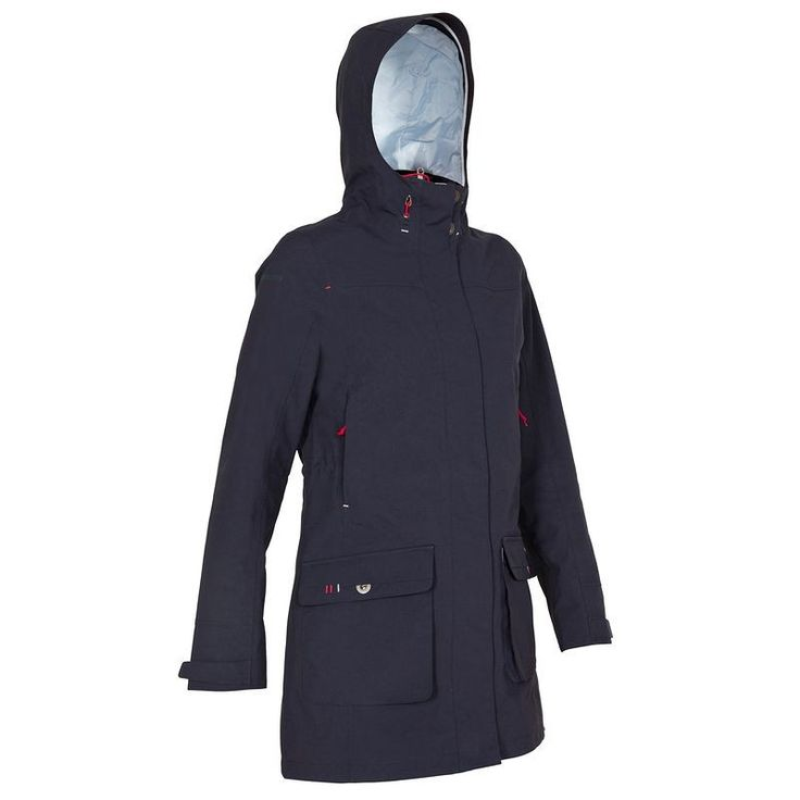€ 49,99 - Deportes Agua - chubasquero impermeable, transpirable y cortaviento m azul osc. - TRIBORD