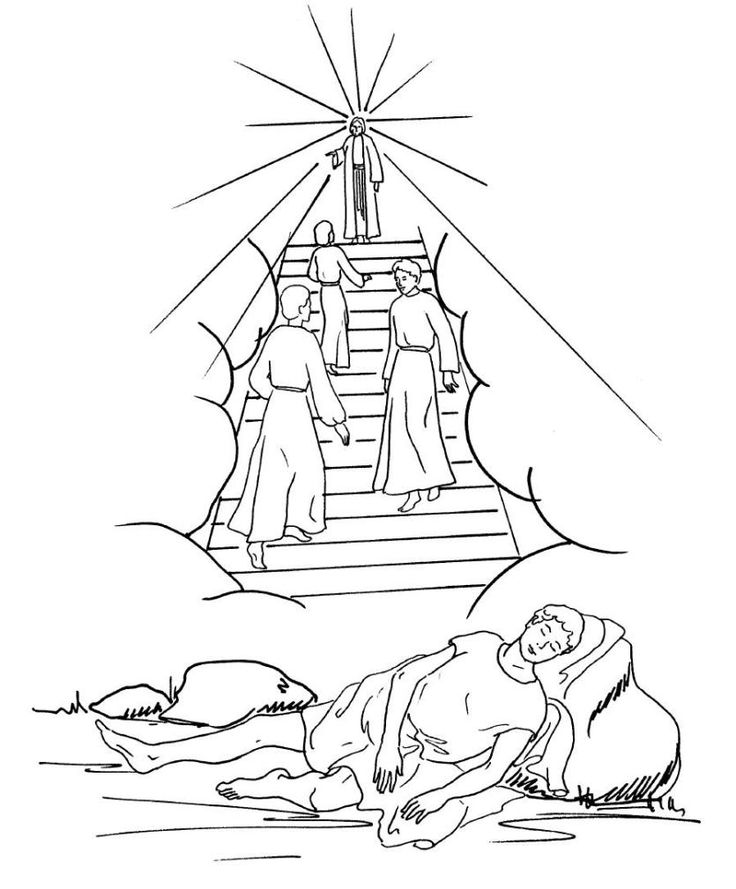 jacobs dreams coloring pages - photo#9