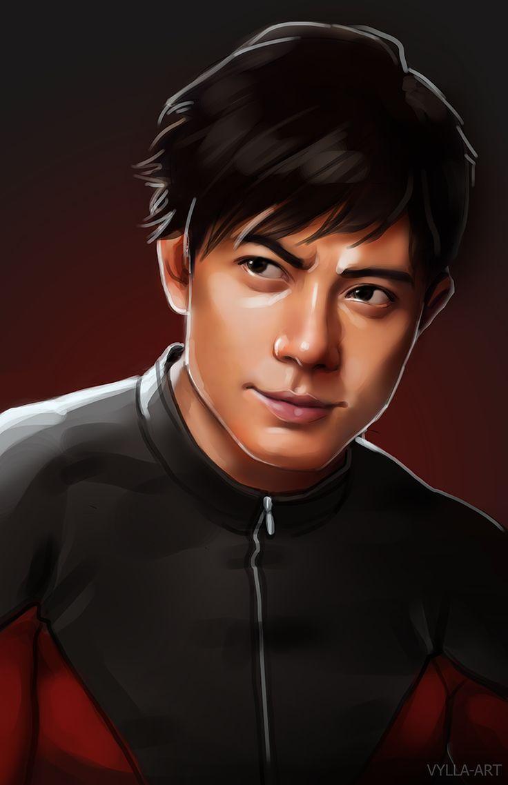 Shang-Chi portrait fanart by vylla-art   Avengers 616 ...