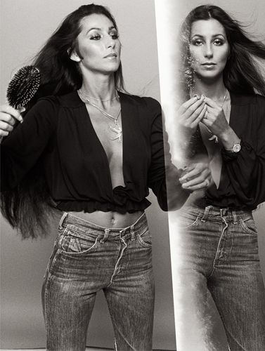Cher, 1976. (Norman Seeff/Morrison Hotel Gallery)