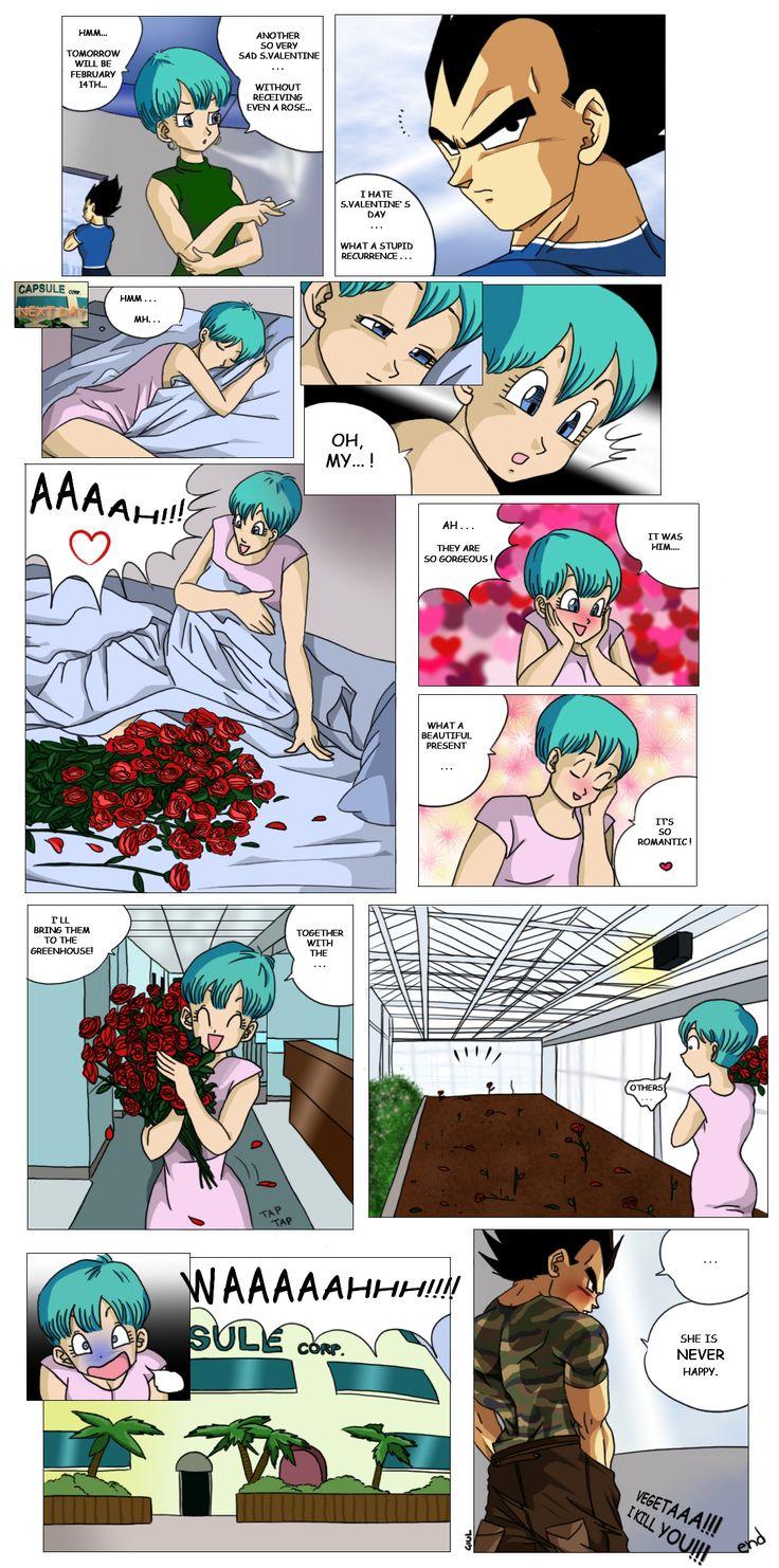 Vegeta and bulma sex scene