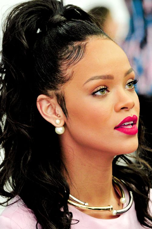Rihanna L Christian Dior Cruise 2015 Show In New York City