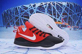 f78980e84c56 Nike LeBron Witness III Red Black White Men s Sneaker Basketball Shoes