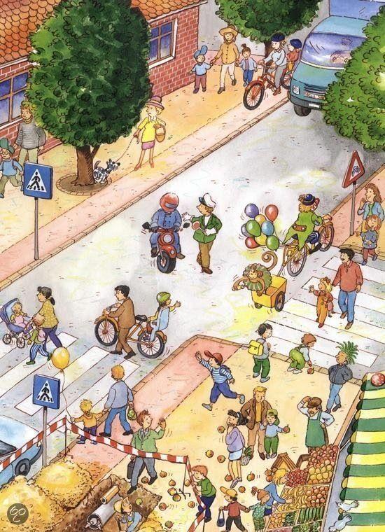 Praatplaat: verkeer in de stad