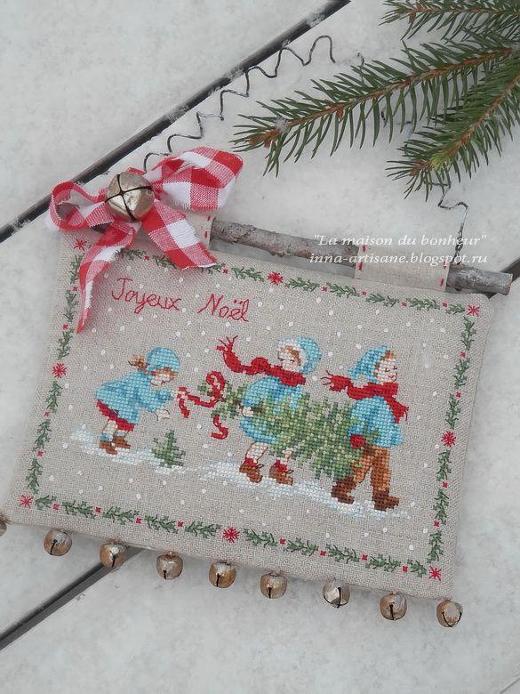 Друзья, продолжаю показывать Рождественские истории всё из той же книги, и всё с теми же действующими лицами:). На этот раз милая троиц...