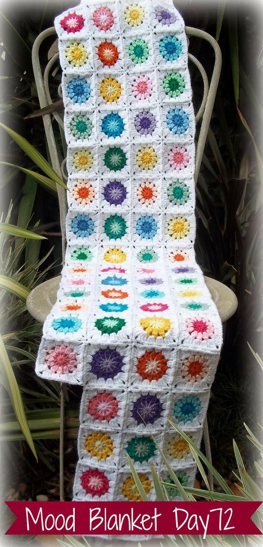 22 best Mood Blankets images on Pinterest   Knit blankets, Crochet ...
