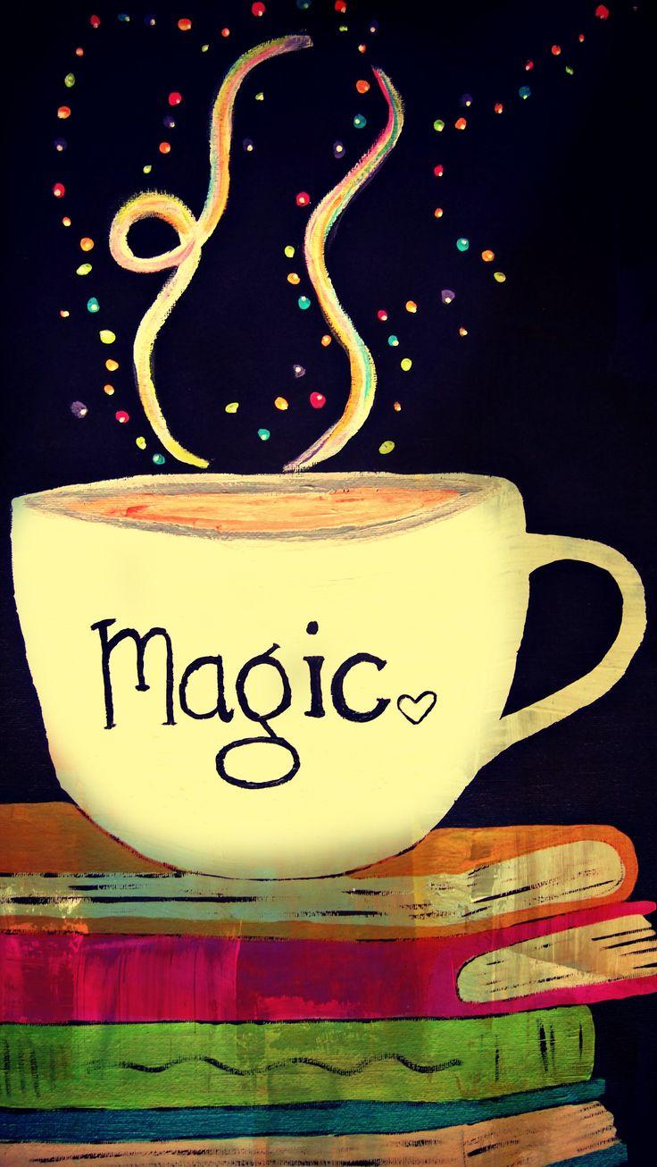 Buenos días pineador! Te mando una tacita de café con magia, disfrútala :) yo estoy en ello ...
