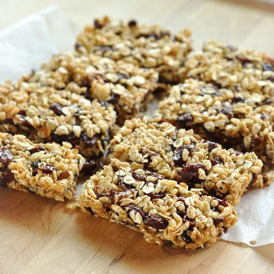 How to Make Homemade Granola Bars Cooking Lessons from @The Kitchn  - try with Uncle Sam for a high fiber bar   - try with Erewhon Crispy Brown Rice and use GF oats for a gluten-free bar