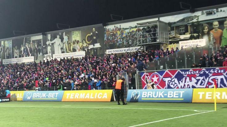E: Bruk-Bet Termalica Nieciecza - Wisła Kraków. [Wisła fans] 2017-11-27