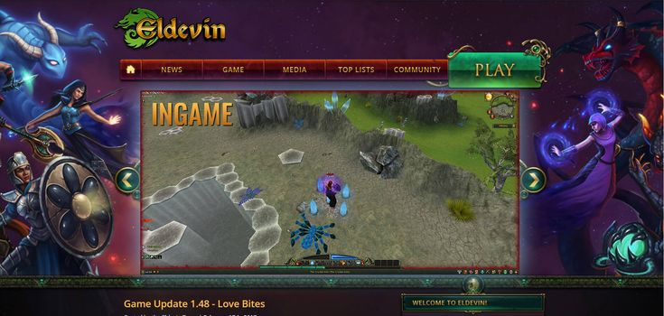 Eldevin is a browser based 3D fighting MMORPG, a bit similar to Runescape, except in Eldevin everything can be more customized and controls are traditional.