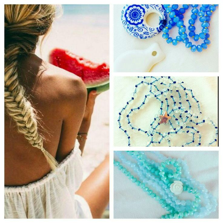 Summer time necklace