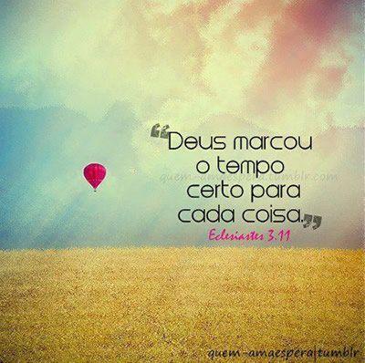 O amor de DEUS: 『♥』Tempo『♥』