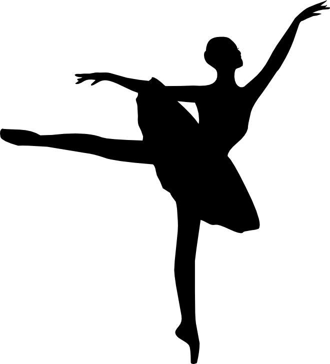 ballet silhouette svg