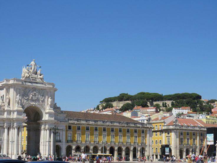 Das #Zentrum der #Hauptstadt von #Portugal #Lissabon
